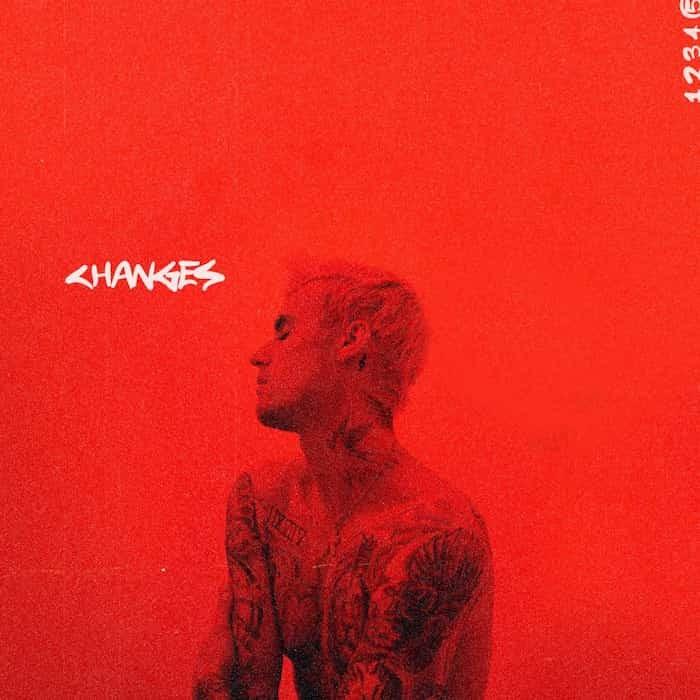 Justin Bieber la portada de Changes