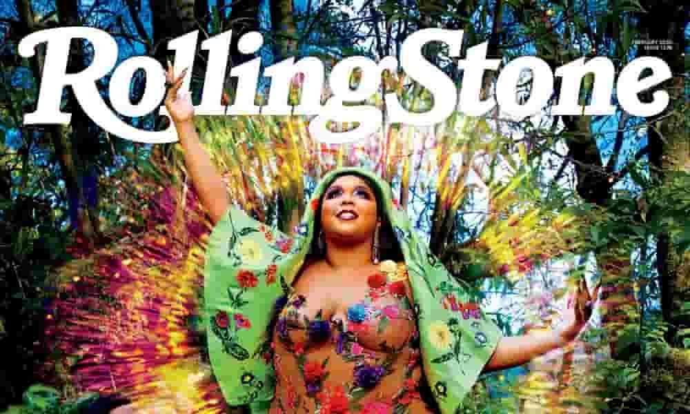Lizzo casi desnuda en la portada de Rolling Stone