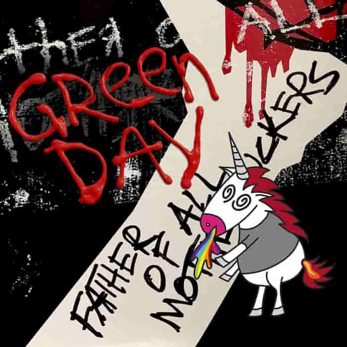 Green Day portada de Father of All Motherfuckers