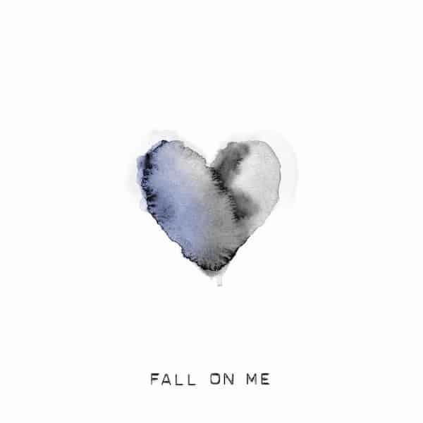 La portada del single'Fall on me'