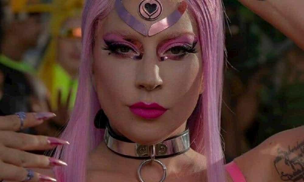 Lady Gaga como Sailor Moon en Stupid Love