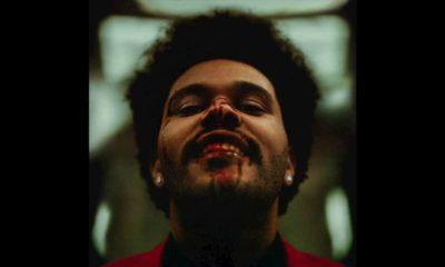 The Weeknd con la cara ensangrentada en la portada de 'After hours'